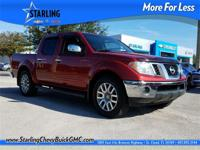 New Price! This 2013 Nissan Frontier SL in Black