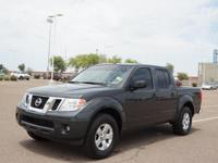 This 2013 Nissan Frontier SV features a stability