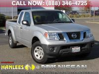 Options:  2013 Nissan Frontier S|Silver|Check Out This