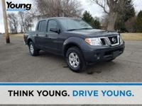 2013 Nissan Frontier. 4WD, 4-Wheel Disc Brakes, CD