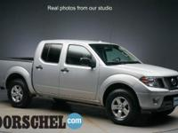 2013 Nissan Frontier S SilverCARFAX One-Owner.