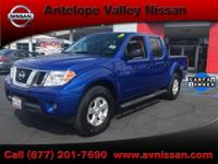 2013 Nissan Frontier SV Nissan Factory Certified 7Yr