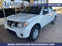 This Nissan Frontier has a dependable Gas V6 4.0L/241