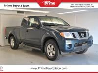 Carfax One Owner! 2013 Nissan Frontier SV in Night