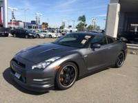 This outstanding example of a 2013 Nissan GT-R Black