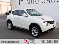 Meet our great looking 2013 Nissan Juke ` AWD shown in