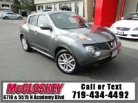 Juke your way to our lot and test drive this beauty!