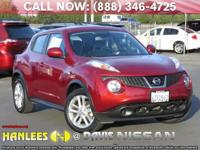 Options:  2013 Nissan Juke S|Red|Check Out This 2013