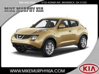 This 2013 Nissan JUKE is complete with top-features