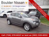 Nice clean low mileage Juke SL AWD just in off lease