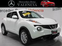 CARFAX One-Owner. Clean CARFAX. White 2013 Nissan Juke