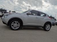 This is one Sharp Nissan Juke 2WD !! ONE-OWNER. It has