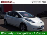 One Owner 2013 Nissan Leaf SV Hatchback, Warranty,