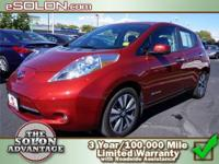 2013 Nissan LEAF 4dr Car SL Our Location is: Dave Solon