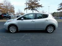 New Price! CARFAX One-Owner. 2013 Nissan Leaf S