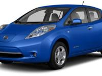 2013 Nissan LEAF S For Sale.Features:Electric Motor,