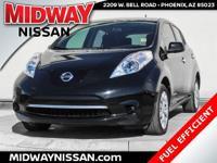 New Price!2013 Nissan Leaf S Super Black 80kW AC