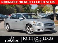POWER MOONROOF, LEATHER SEATS, POWER HEATED FRONT