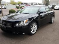 CARFAX One-Owner.  2013 Nissan Maxima 3.5 S Priced