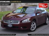 This 2013 Nissan Maxima 4dr 4dr Sedan 3.5 SV features a