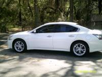 Options:  2013 Nissan Maxima  White 5 Passenger Abs