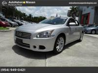 The CARFAX report reveals this Nissan Maxima is a well