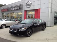 This 2013 Nissan Maxima 4dr Sdn 3.5 SV w/Sport Pkg is