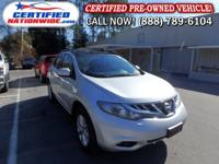 OWNER - LOW LOW MILES! This 2013 Nissan Murano is well