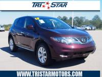 Treat yourself to this 2013 Nissan Murano S, which