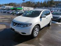 Meet our uniquely styled 2013 Nissan Murano SV shown