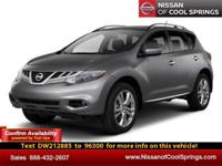 LIVE VIDEO LINK!   This Murano is Nissan Certified