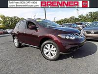 Murano SL, CVT with Xtronic, AWD, and Leather. Leather!