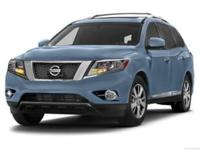 This 2013 Nissan Pathfinder Platinum is proudly offered