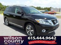 2013 Nissan Pathfinder Platinum 3.5L V6 Super Black