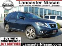 Presenting our One Owner 2013 Nissan Pathfinder
