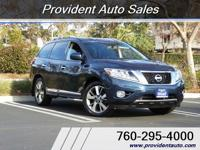 Platinum*1 owner*3rd row*2013 nissan pathfinder