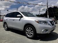 2013 Nissan Pathfinder S Brilliant Silver 4WD, 3rd row