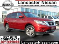 Presenting our One Owner 2013 Nissan Pathfinder S 4x4
