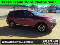 Recent Arrival! 2013 Nissan Pathfinder SL 4WD CARFAX