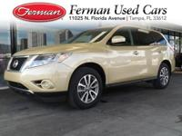 (813) 922-3441 ext.534 This 2013 Nissan Pathfinder S is