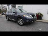 Treat yourself to this 2013 Nissan Pathfinder SL, which