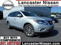 Meet our 2013 Nissan Pathfinder SL 4x4 shown proudly in