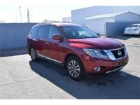 We are excited to offer this 2013 Nissan Pathfinder.