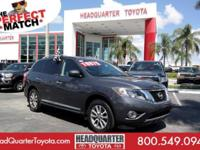 Delivers 26 Highway MPG and 20 City MPG! This Nissan
