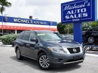 Options:  2013 Nissan Pathfinder Sv|Gray|At Michael's