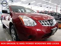Recent Arrival! 2013 Nissan Rogue S Cayenne Red Pearl