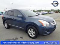 This 2013 Rogue has a clean CARFAX and low miles right