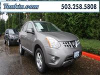 WOW!!! Check out this. 2013 Nissan Rogue SV Gray 2.5L