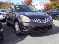 This 2013 Nissan Rogue S in Amethyst features: AWD CVT