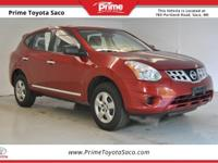 Carfax One Owner! 2013 Nissan Rogue S in Cayenne Red